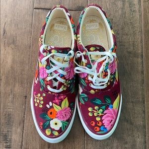 Keds x Rifle Paper Co. Sneakers - New w/Box!